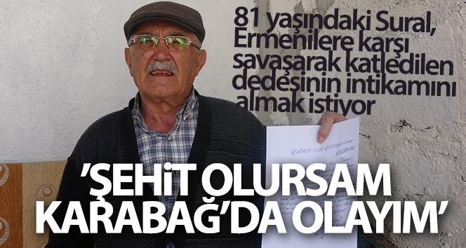 Ermenilere karşı savaşarak katledilen dedesinin intikamını almak istiyor