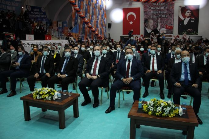 AK Parti Aydın İl Gençlik Kolları'nda Demir güven tazeledi