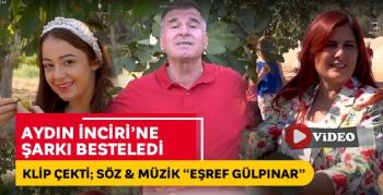 Aydın İnciri'ne şarkı besteledi, klip çekti! Başkan Çerçioğlu'da klipte yer aldı..