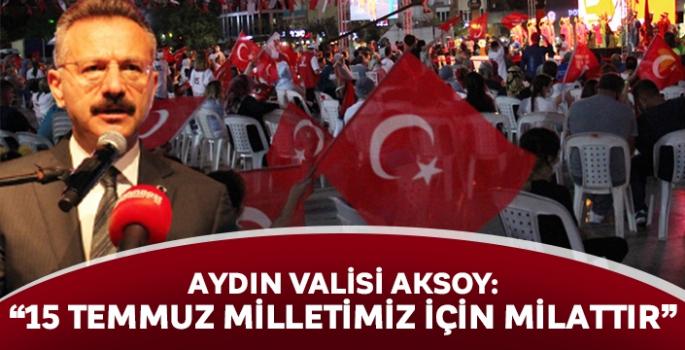 Aydın Valisi Aksoy: