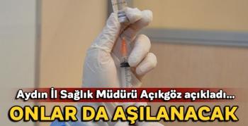 Aydın'da huzurevleri ve yaşlı bakımevlerinde aşı uygulaması başladı