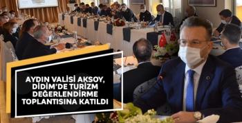 Aydın Valisi Aksoy, Didim'de turizm değerlendirme toplantısına katıldı