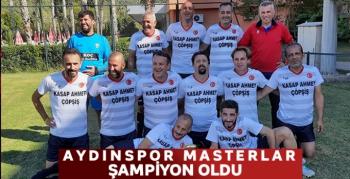 Aydınspor Masterlar şampiyon oldu