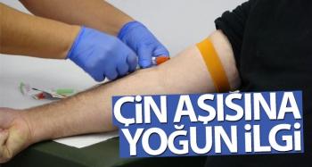 Çin aşısına yoğun ilgi