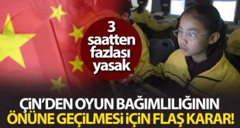 Çin, çocukların haftada 3 saatten fazla online oyun oynamasını yasakladı