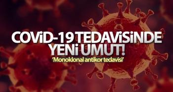 Covid-19 enfeksiyonu tedavisinde monoklonal antikor umudu