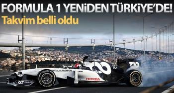 Formula 1'de Türkiye yeniden 2021 takviminde