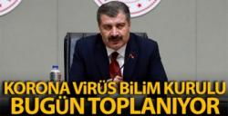 Koronavirüs Bilim Kurulu saat 15.00'te toplanacak