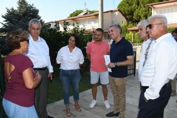 Kuşadası Belediyesi sahada çözüm üretmeye devam ediyor