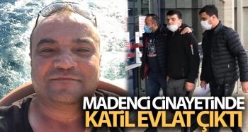Madenci cinayetinde katil evlat çıktı