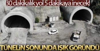 Mithatpaşa Tünelleri'ndeki çalışmalarda sona gelindi