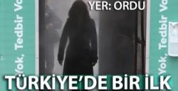 ORDU'DA CORONAVİRÜSE KARŞI 'DEZENFEKTE TÜNELİ'