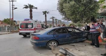 Söke'de trafik kazası: 2 yaralı