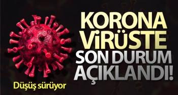 Son 24 saatte korona virüsten 144 kişi hayatını kaybetti