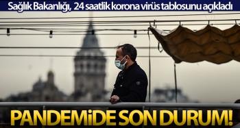 Son 24 saatte korona virüsten 245 kişi hayatını kaybetti