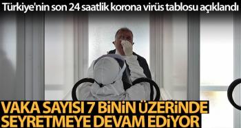 Son 24 saatte korona virüsten 50 kişi hayatını kaybetti