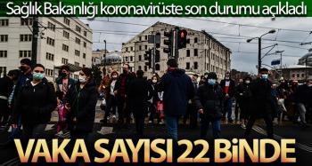 Son 24 saatte korona virüsten 60 kişi hayatını kaybetti