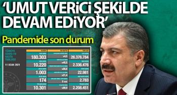 Türkiye'nin son 24 saatlik korona virüs tablosu açıklandı