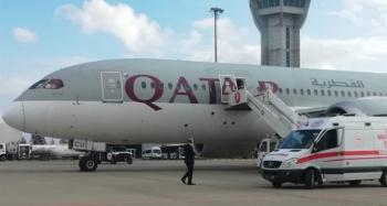 Uçakta korona virüs paniği
