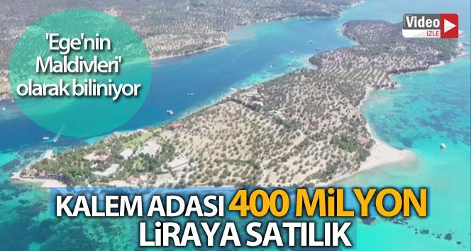 Kalem Adası 400 milyon liraya satılık