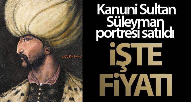 Kanuni Sultan Süleyman'ın portresi 438 bin 500 sterline alıcı buldu