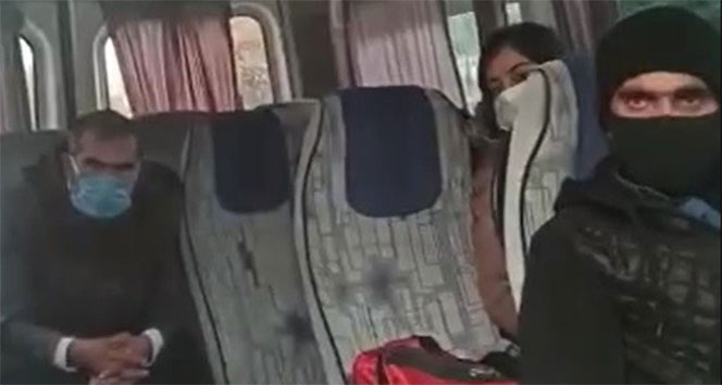 Minibüste maske takmayan şahsın şaşırtan bahanesi