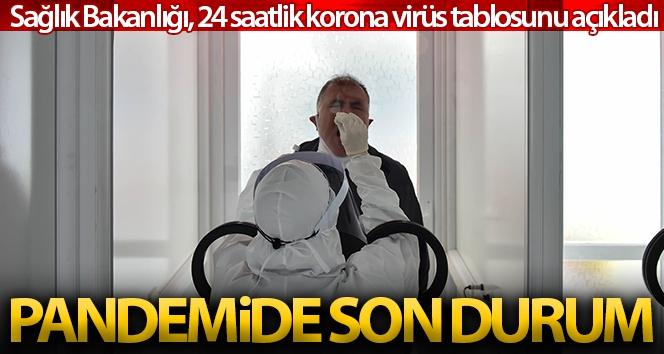 Son 24 saatte korona virüsten 210 kişi hayatını kaybetti