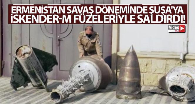 Şuşa'ya İskender-M füzeleriyle saldırdığı kesinleşti