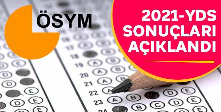 2021-YDS sonuçları açıklandı