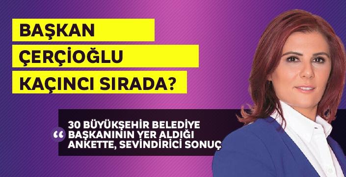 30 Büyükşehir'de 100 ilçe'den katılım ile gerçekleşen anket sonuçları...
