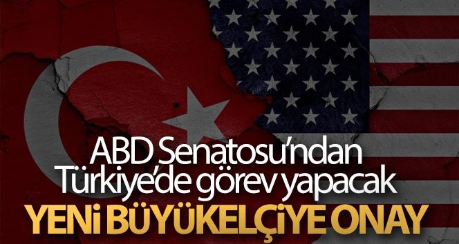 ABD Senatosu Türkiye'de görev yapacak yeni büyükelçiyi onayladı