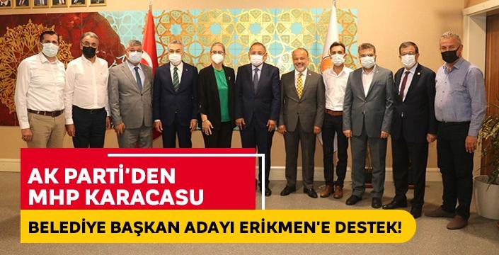 AK Parti'den MHP Karacasu Belediye Başkan Adayı Erikmen'e destek!
