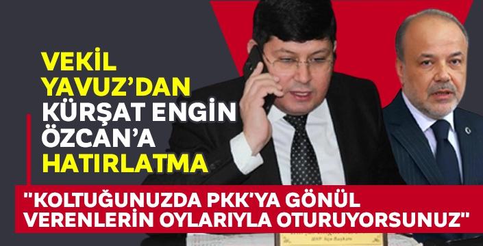 AK Parti Milletvekili Yavuz'dan Nazilli Belediye Başkanı Özcan'a 'PKK' tepkisi!
