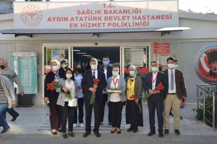 Atatürk Devlet Hastanesi´nde, hasta hakları konusunda bilgilendirmede bulunuldu
