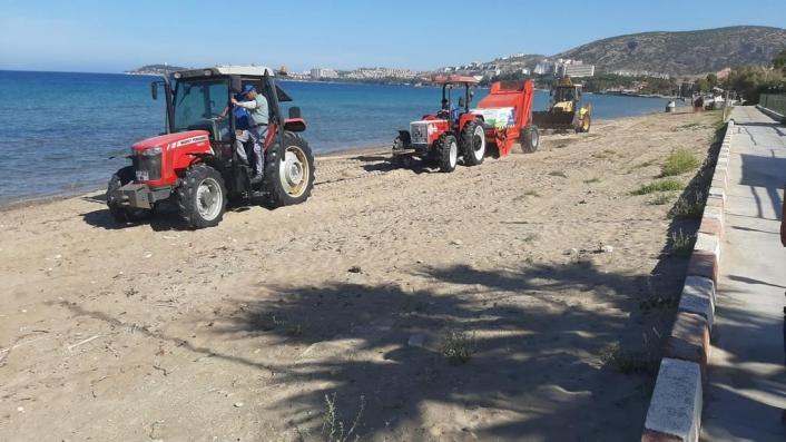 Aydın BŞB´den Didim ve Kuşadası sahillerinde hummalı çalışma