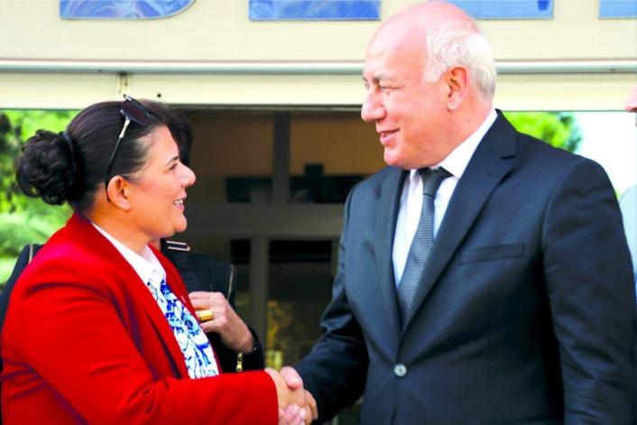 Aydın Büyükşehir Belediye Başkanı Çerçioğlu, Söke Belediye Başkanı Tuncel ile bir araya geldi