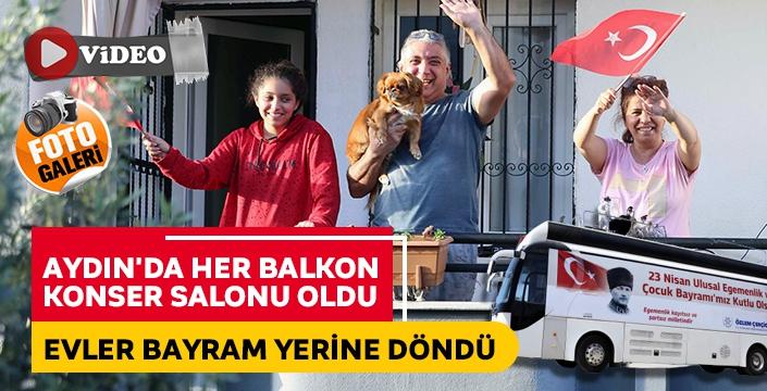 Aydın Büyükşehir Belediyesi Bayram Coşkusunu Evlere Taşıdı