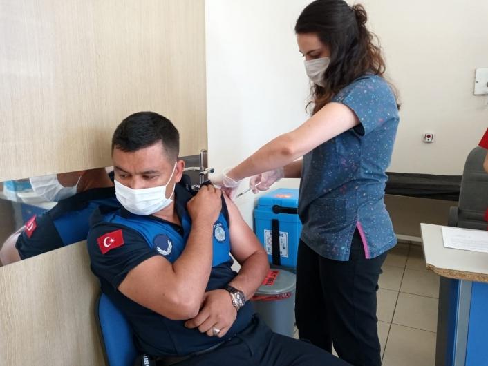 Aydın´da aşı rakamlar 600 bini geçti