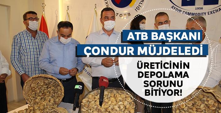 Aydın'da incir üreticisinin depolama sorunu sona eriyor