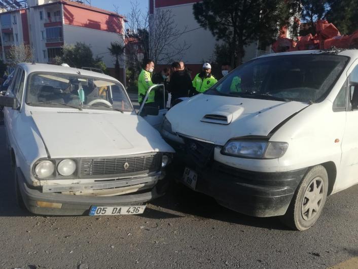 Aydın´da trafik kazası: 2 yaralı