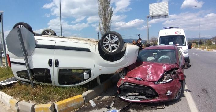 Aydın´da trafik kazası; 3 yaralı