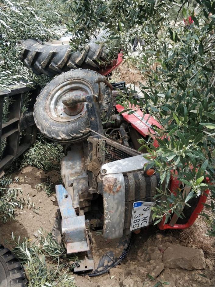 Aydın´da traktör kazası: 1 ölü