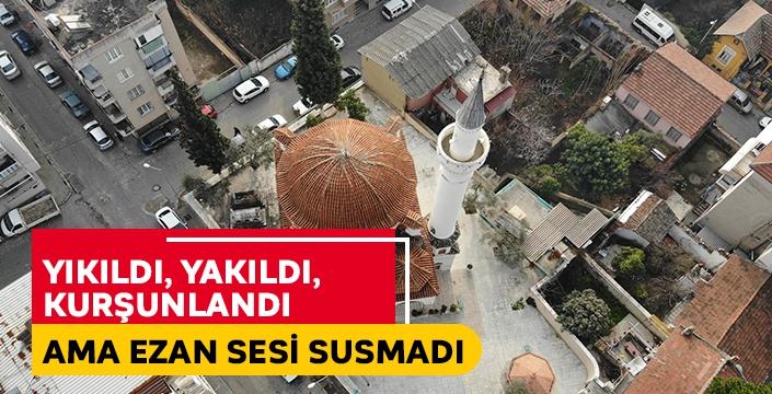 Aydın'da Üveys Paşa Camii 453 yıldır ayakta kalmayı başardı