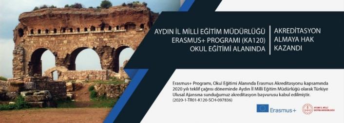 Aydın İl Milli Eğitim, Erasmus akreditasyonuna sahip kurumlar arasına girdi
