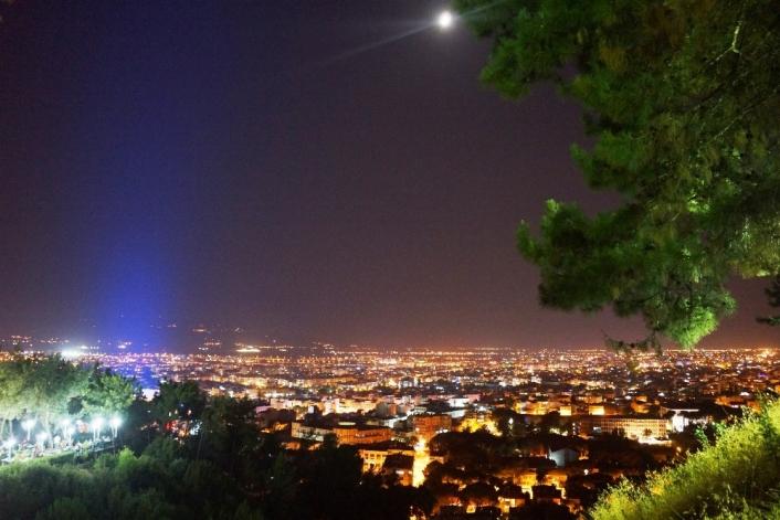 Aydın´ın gece manzarası keyif veriyor
