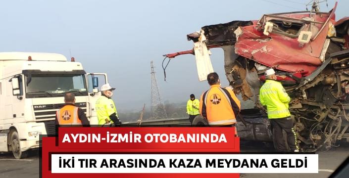 Aydın-İzmir otobanında kaza!
