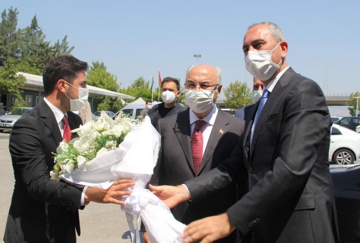 Bakan Gül´den İzmir Valiliği ve AK Parti İzmir ziyareti