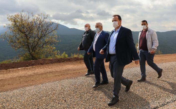 Başkan Besim Dutlulu´dan kırsal mahallelere çıkarma