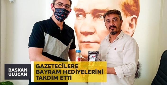 Başkan Cem Ulucan'dan Gazetecilere Bayram Hediyesi
