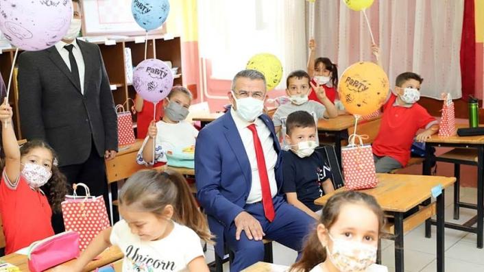 Başkan Güler, öğrencilerin heyecanına ortak oldu